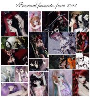 Personal favorites from 2012 by sherimi