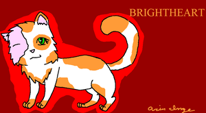 Brightheart of ThunderClan by Soulfire1123