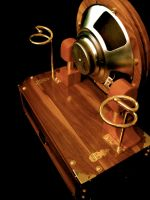 Steampunk Guitar Amplifier 4 by steampunk22