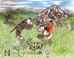 Paradise - Wolf's Rain NG Contest Entry by Karai0318