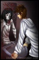 Jeff and jeff the killer - refection by zaameen
