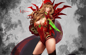 Warcraft - Valeera Sanguinar by Arcan-Anzas