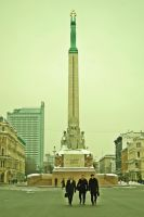 monument of freedom by ljenda