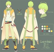 Lemhier [character sheet] by shinkusora