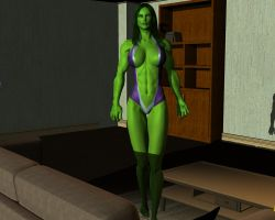 She hulk - Exclusive 23 by MorganCygnus