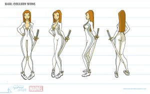 Colleen Wing Turnaround by artofjared