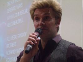 Vic Mignogna During Q and A- Colossalcon 2014 by albertxlailaxx