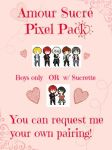 Amour Sucre Pixel Pack by PitchySoldier