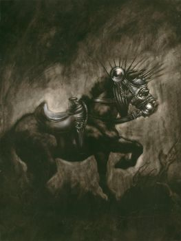 'Funeral Horse' by JUA