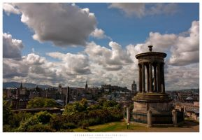 Edinburgh from Calton Hill by gabba74