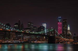 Manhattan Skyline by rayxearl