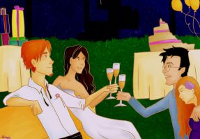 For the happy couple by nuini