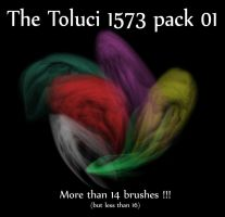 The Toluci 1573 Pack 1 brushes by pbxn109