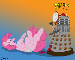 MLPFIM: Pony vs. Dalek 5 -- Pinkie Pie by the-gneech