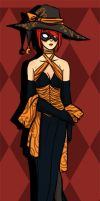 MM: Masquerade Outfit, The Witch by VeloursRose