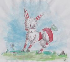 Peppermint bunny by sapphireweasel25