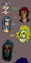 Join.ME Requests: Busts #2 by BitterBile