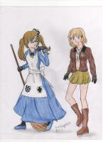 FemEngland and FemAmerica- FINISHED VERSION by AnimeFangirl1023