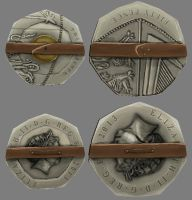 Coin Shields by HamsterEagleHunter
