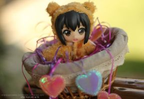 Valentines Day Theme Azusa Kawaii by kixkillradio
