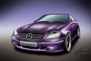 2000 Mercedes Benz SLK by KingOfShu
