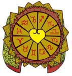 Ra's Zodiac Wheel Shield by KambalPinoy