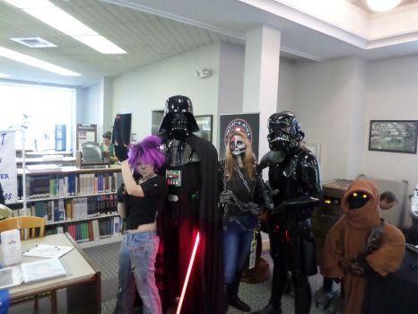 awesome darth vader at library con2014 by Kotoko87