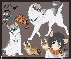 Yun_ ref sheet by LewKat