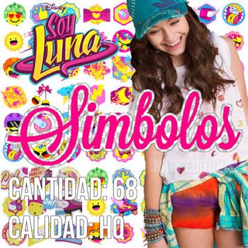 +Simbolos Soy Luna PACK PNG+ by NatyEditions25