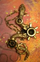 Steampunk Snake Necklace by Noviel