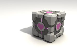 Companion cube by cr8g