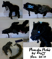 Phaedra plushie by TheRoguez