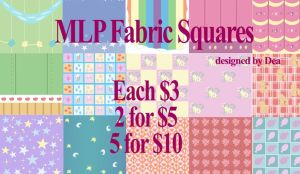 MLP Fabric for Sale by bluepaws21