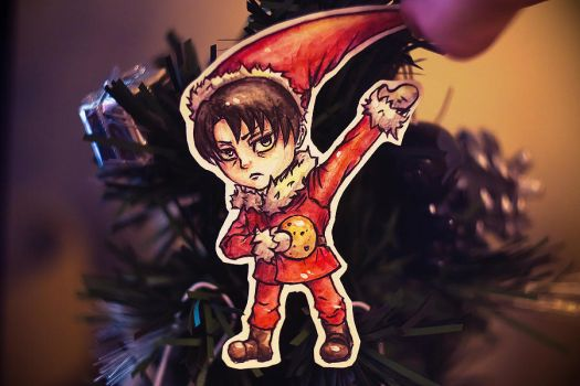 Paper child Rivaille by OpiumKyo