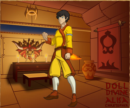 Jordan Tolkar of the Fire Nation by TolkarDragon18