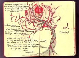 Moleskine - 1st page by Nimuell