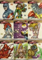 Marvel MasterPieces II SET 05 by Soul-the-Awkward