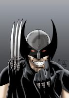 Wolverine 1 recreation - X-Force Wolverine by chrismas-81