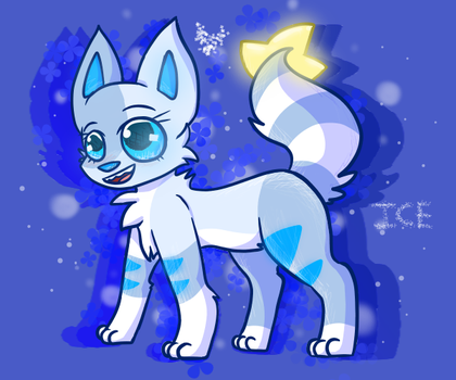 Ice - Commission by KittydogCrystal