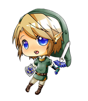 LOZ - Chibi Link by linkinounet62
