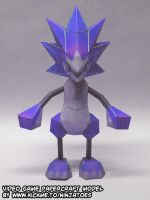 A blue Moomba is no Sonic by ninjatoespapercraft
