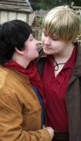 Merthur - A Magical Glance by HyperLittleNori