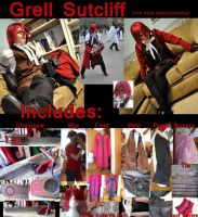 Grell Sutcliff : Costume for Sale : New Price by Lossien