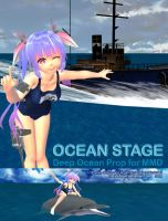 MMD Ocean Stage by Trackdancer