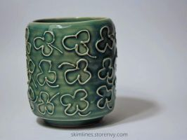 Lucky Tea Cup by skimlines