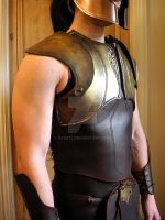 Greek armour side view by glee72