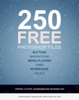 Button Collection: 250 psds by easydisplayname