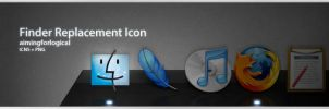 Finder Icon Replacement by aimingforlogical