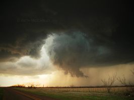 Funnel Cloud of Crowell by RandomTechie27