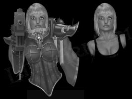 Sister of Battle WIP by LaithArkham